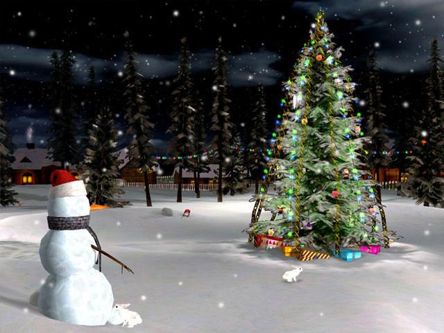 christmas eve 3d screensaver christmas screensaver download. Black Bedroom Furniture Sets. Home Design Ideas
