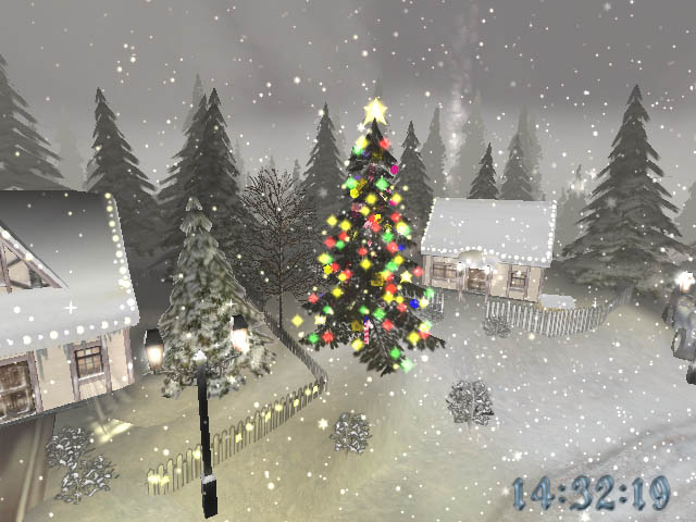 Christmas time 3d screensaver download christmas screensaver for Screensaver natale 3d