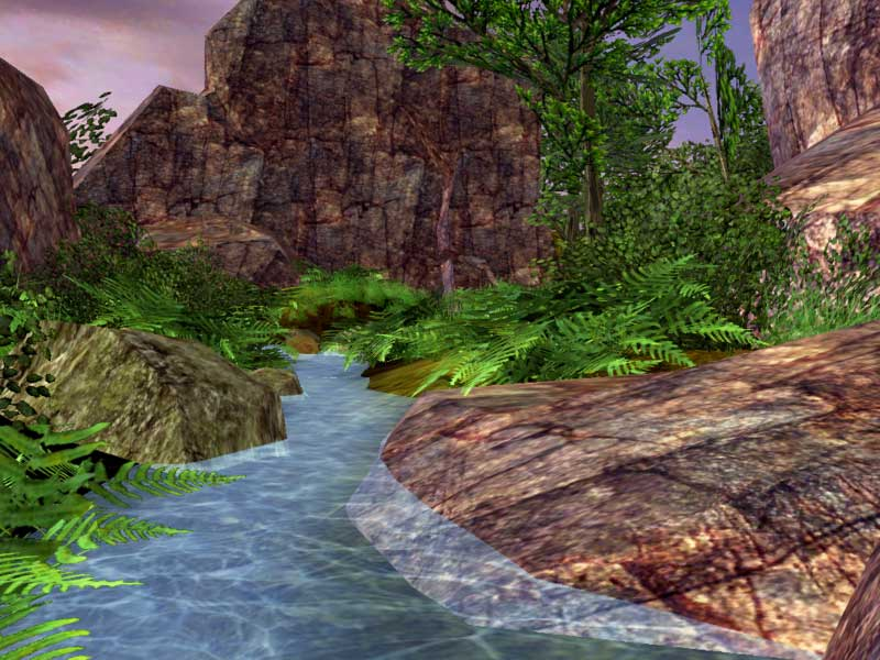 Green Valley 3D Screensaver
