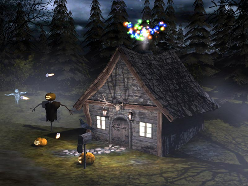 halloween screensaver download 3d spooky halloween screensaver