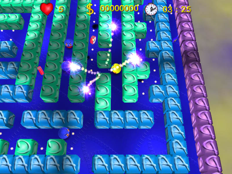 Click to view PacShooter 3D - Pacman Download 1.4 screenshot