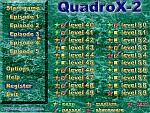 Screenshot of QuadroX puzzle game