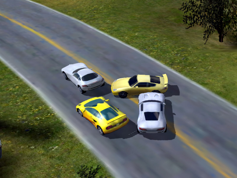 Race Cars: The Extreme Rally screenshot: race, car, rally, speed, race car, sport car, fast race