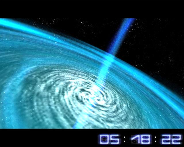 Space flight 3d screensaver 1 4