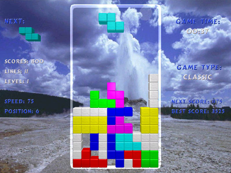 Tetris Arena is an ultra-modern 3D remake of the all-time classic Tetris game.