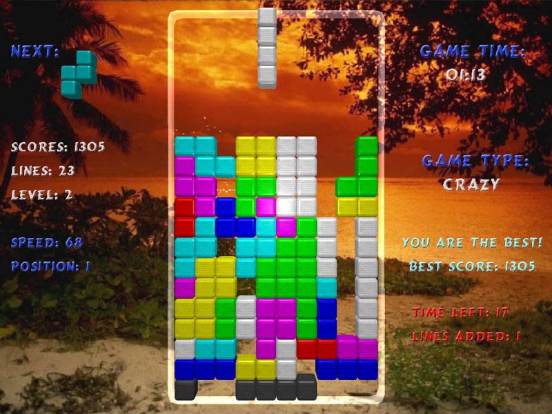 Download Tetris Arena now and we are sure that you'll find it worth